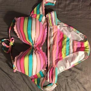 VS 34DD Underwire Halter Bikini